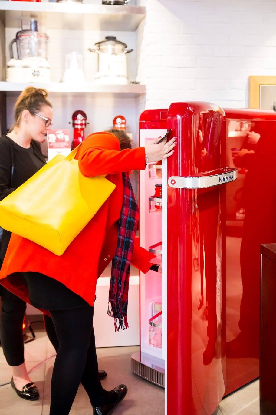 Kitchenaid Launches Iconic Fridge With Iconic Design