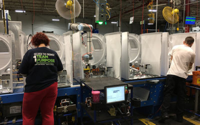 Collaborative robots enhance manufacturing capabilities
