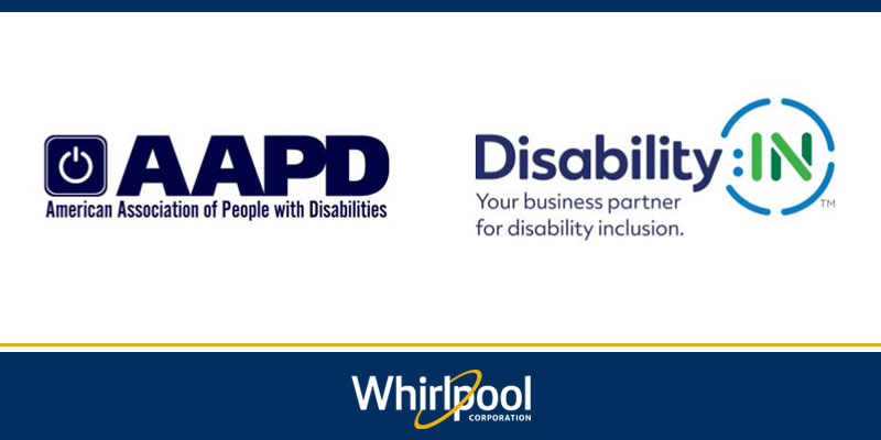Whirlpool Corp awarded Disability Index Award