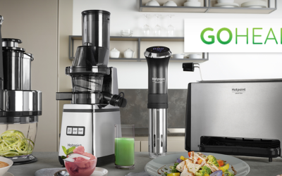 Hotpoint launches the new Go Healthy small appliances range and invites everyone to Feel the taste of Wellness