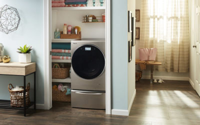 Fitting in Smaller Spaces: Whirlpool® Smart All-In-One Washer and Dryer