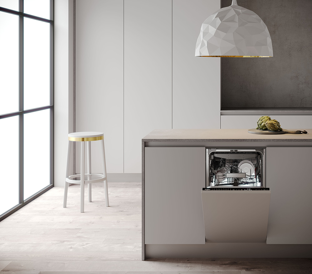 Whirlpool 45cm dishwasher at Eurocucina 2018