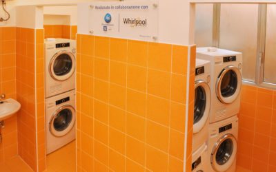 Pope Francis Laundry opens in Rome thanks to support from Whirlpool Corporation