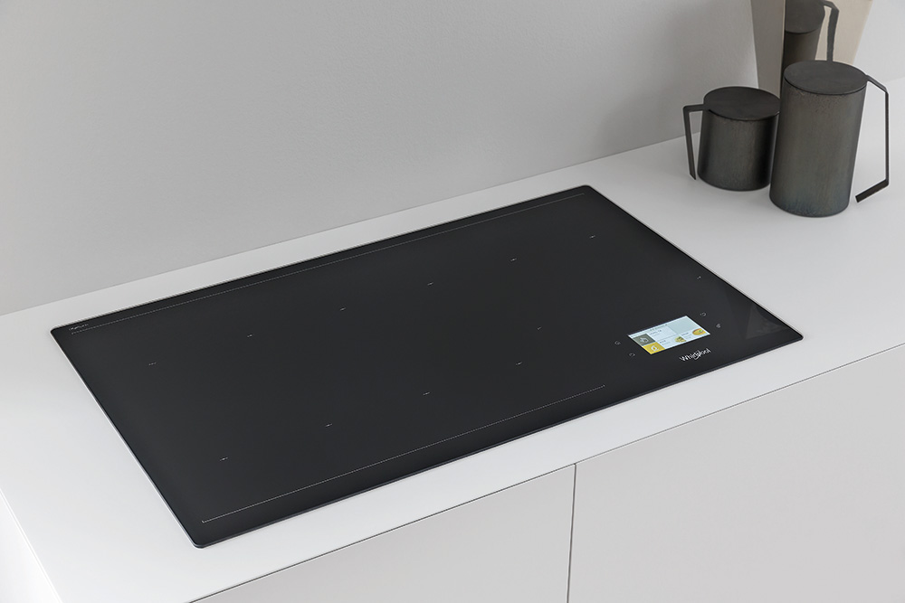 Whirlpool W Collection induction hob at Eurocucina 2018