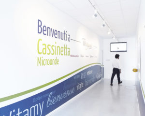 Inside the Cassinetta facility – photo by Alessandro Imbriaco