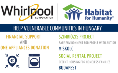 Whirlpool EMEA and Habitat for Humanity together to help vulnerable communities in Hungary