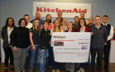 Whirlpool employees raise $400K for Darke Co. United Way