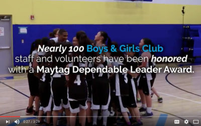 Maytag Brand Celebrates Partnership with Boys & Girls Clubs of America