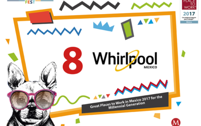 Whirlpool Mexico Ranked #8 Best Place to Work for Millennials