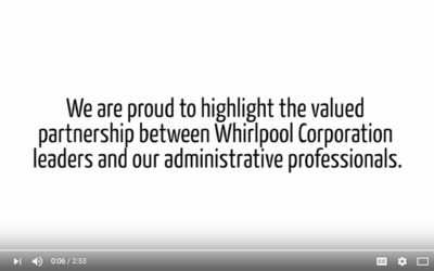 Whirlpool Corp Recognizes National Administrative Professionals' Day