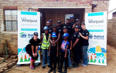 Whirlpool Corporation and Habitat for Humanity Partner to Help Vulnerable Communities in South Africa