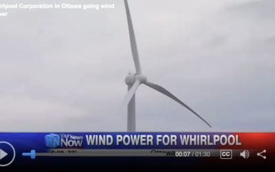 Whirlpool Corporation in Ottawa Going Wind Power