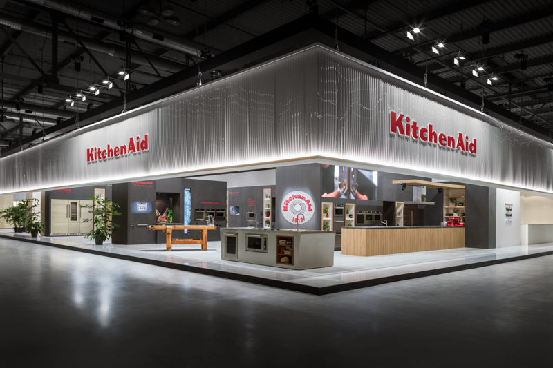 KitchenAid Booth at Eurocucina 2018