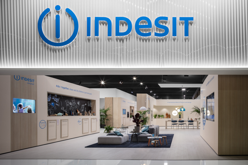 Indesit Booth at Eurocucina 2018