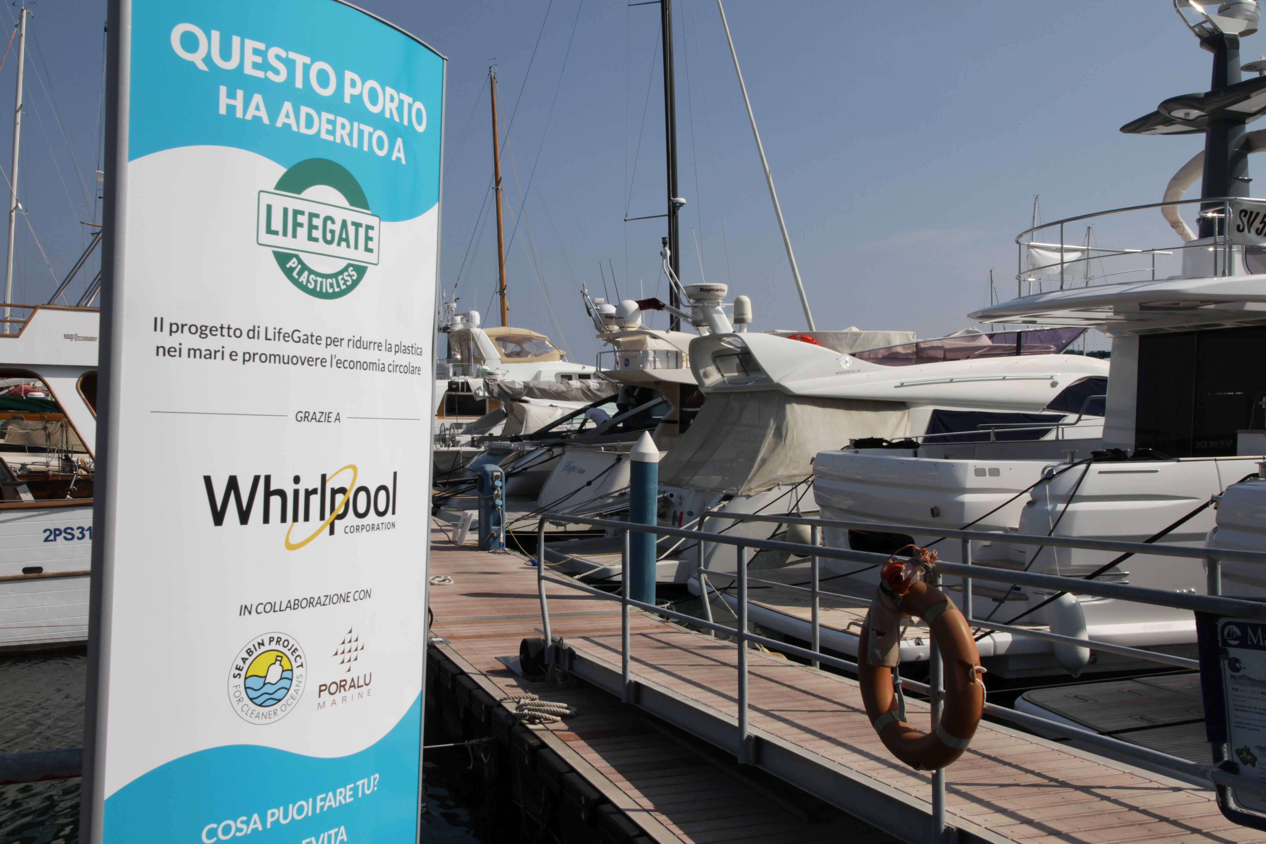 Whirlpool EMEA joins Lifegate #Plasticless