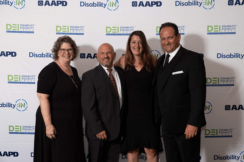 Scores 100 Percent on 2019 Disability Equality Index