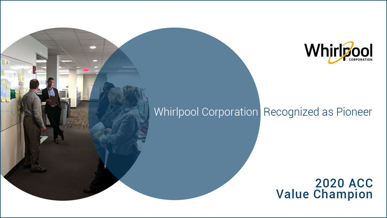 Whirlpool Corporation 2020 ACC Value Champion