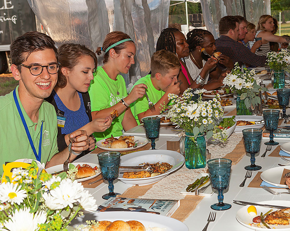 Welcome Home Dinner for 41 Habitat for Humanity Families