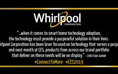 The Future Smart Home Needs to Solve Simple Problems to Drive Consumer Adoption: Whirlpool Global Innovation Survey