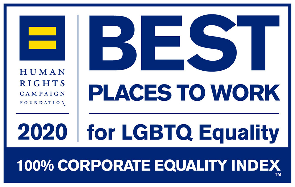 HRC Best Place to Work for LGBTQ Equality Award