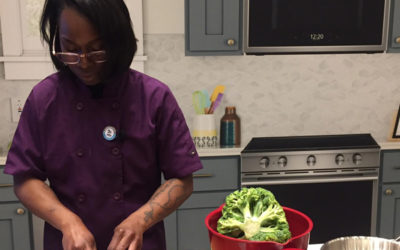 "Habitat for Humanity and Whirlpool Corporation team up with Food Network ""Chopped"" winner Chef Roshara Sanders to lend a helping hand to homeowners in the kitchen"
