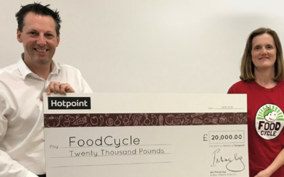Hotpoint raises £20,000 for FoodCycle