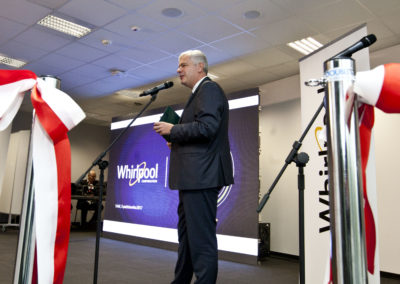 Opening of the new Whirlpool Shared Services Centre in Łódź