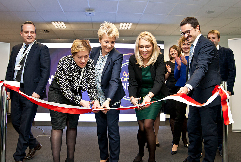 Opening of the new Whirlpool Shared Services Centre in Łódź 1