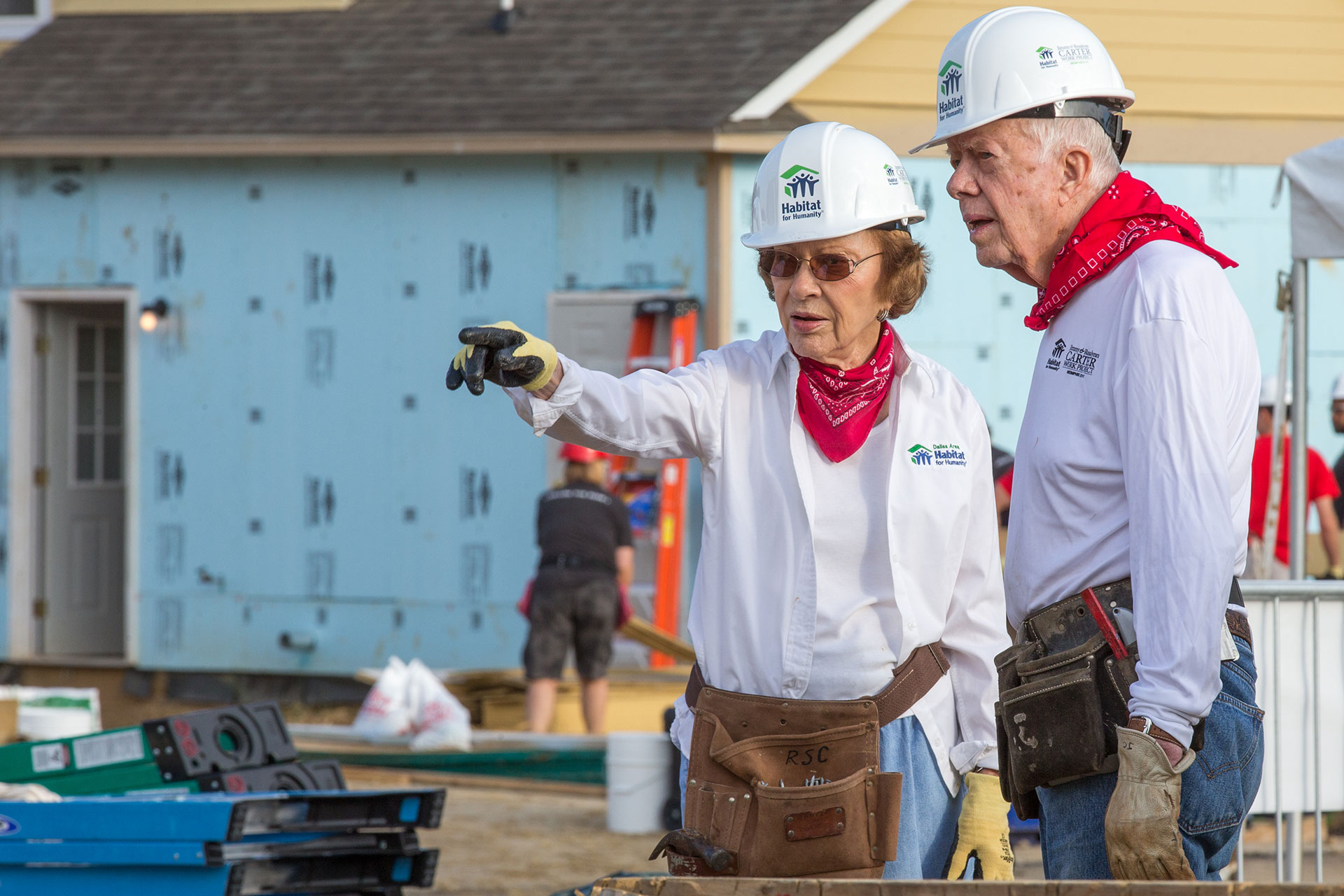 Jimmy and Roslyn Carter Mishawaka Habitat Build