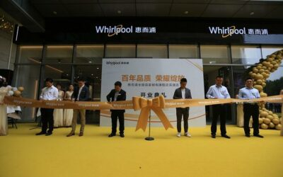 China's First Whirlpool Kitchen Appliance Flagship Store Opens in Hefei