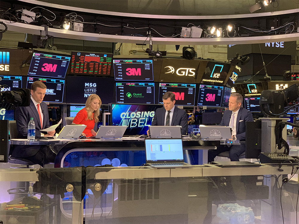 Marc Bitzer Talks to CNBC About Strong Q4 and 2019 Earnings Results 1