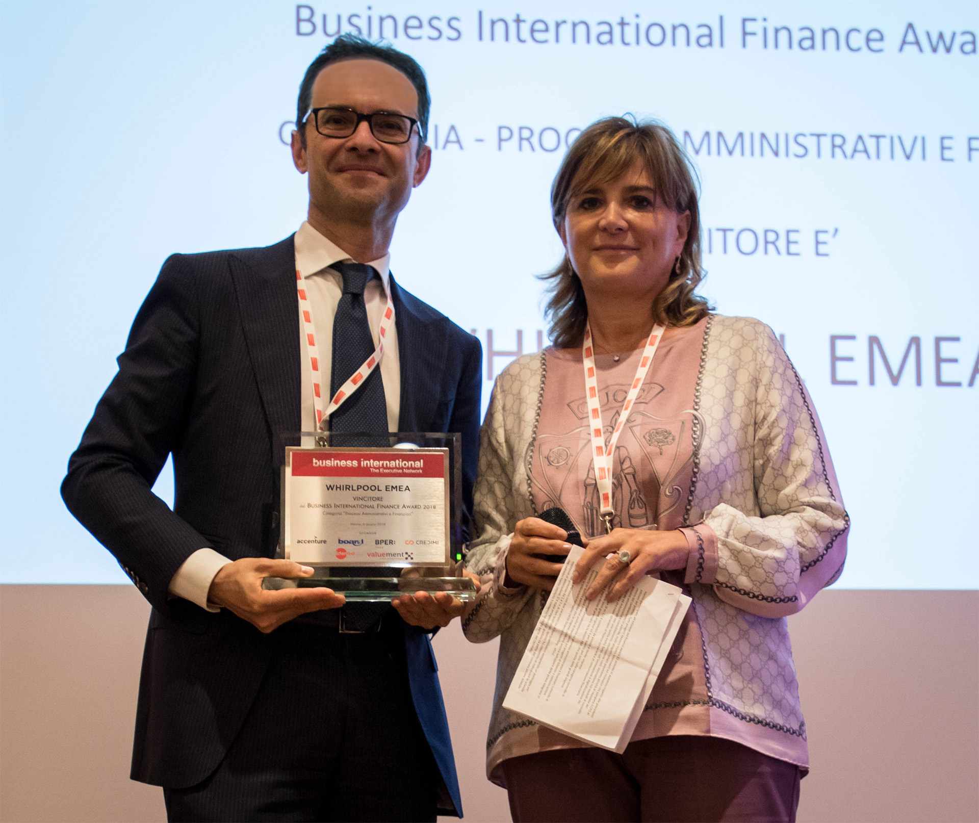 Marco Fossataro - International Business Award