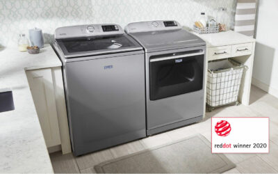 Maytag Wins Red Dot Award For New Top-Load Laundry Line