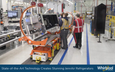 Whirlpool Corporation Creates More Ergonomic and Innovative Manufacturing Processes