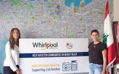 Whirlpool Corporation donates home appliances to support more than 100 families affected by Beirut Port blast