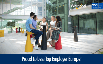 Whirlpool EMEA certified Top Employer Europe 2020