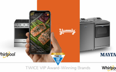 Maytag, Whirlpool and Yummly Brands Announce TWICE VIP Award Wins