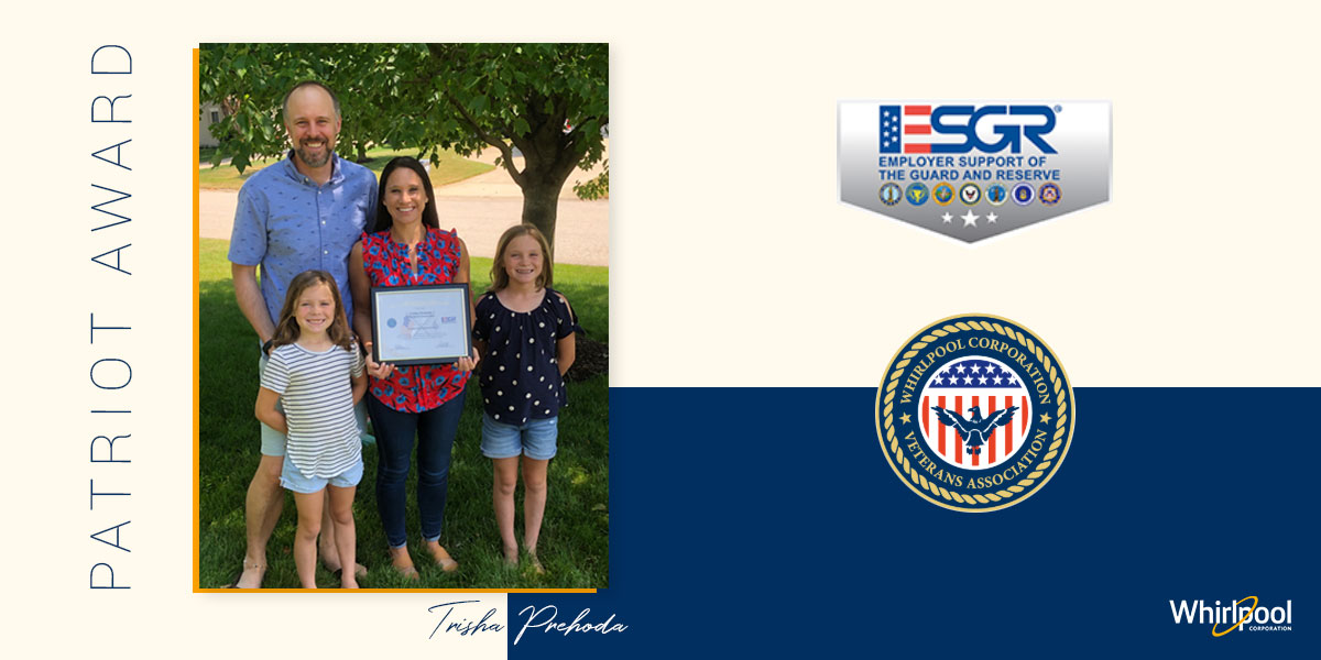 Trisha Prehoda, Patriot Award