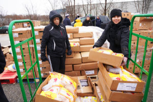 Whirlpool Corp and Southwest Michigan Community Action Agency Holiday Food Drive