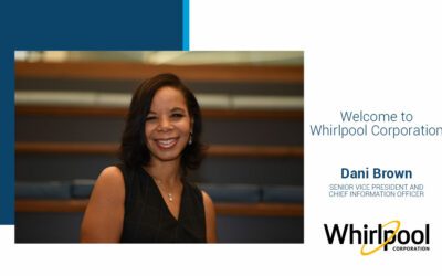 Whirlpool Corporation Names Dani Brown Senior Vice President and Chief Information Officer