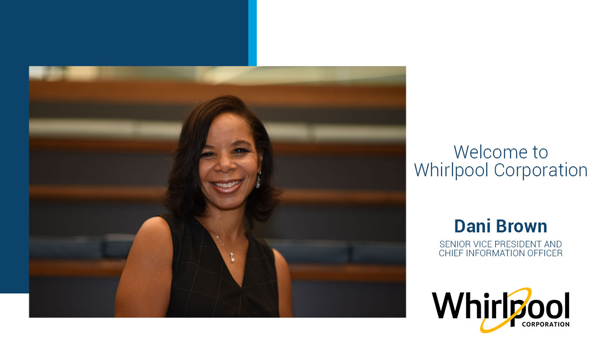 Welcome Dani Brown to Whirlpool Corporation