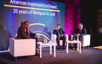 Whirlpool celebrates its 20th anniversary in Łódź with the Łódź Special Economic Zone and the American Chamber of Commerce in Poland