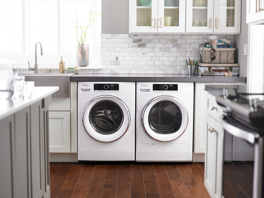 Whirlpool Compact Washer and Ventless Heat Pump Dryer