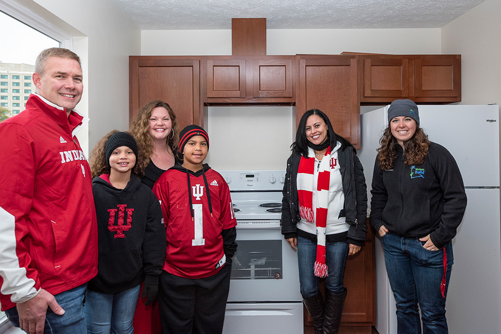 Whirlpool Corp and Habitat IU Build
