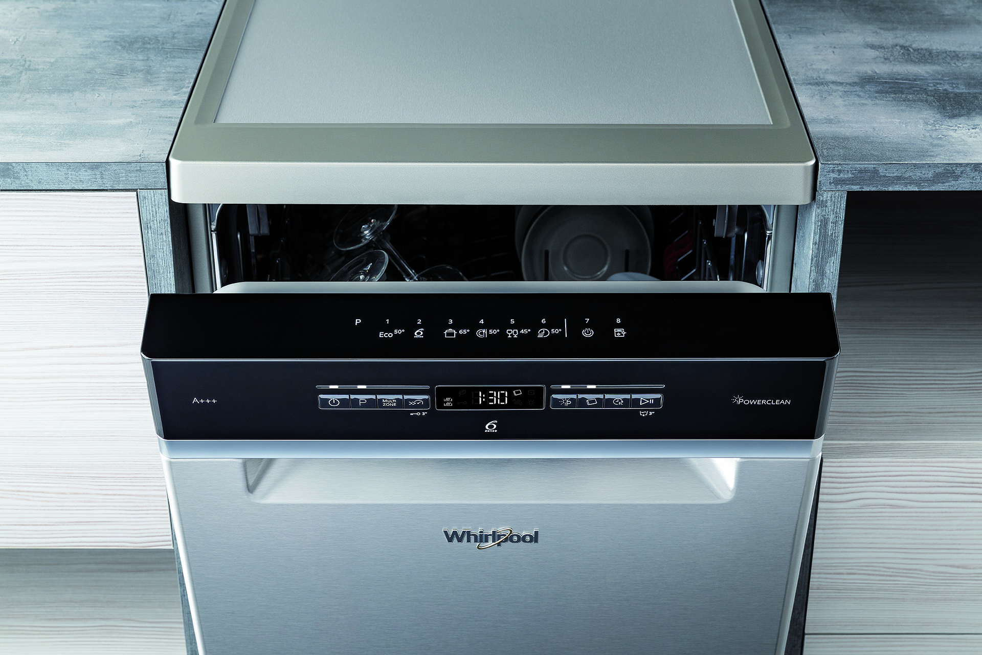 Whirlpool W Collection Supreme Clean Dishwasher