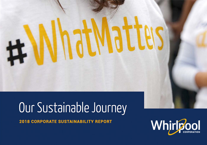 Whirlpool Corporation - Sustainability Report 2018