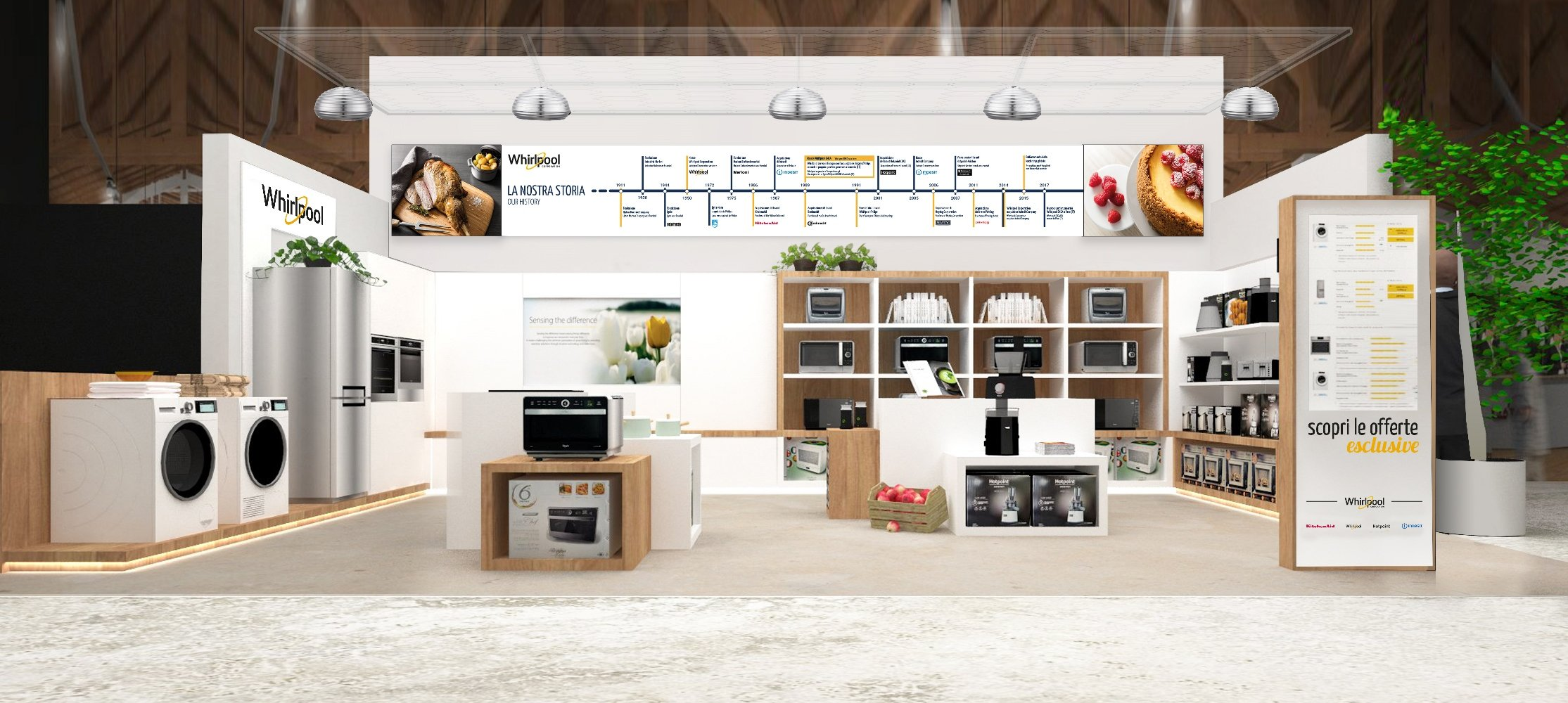 Whirlpool Italia with Eataly in support of Italian Quality: FICO - Fabbrica Italiana Contadina