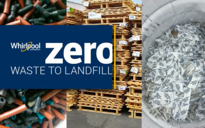 Whirlpool Corporation On-Track to Meet Zero Waste to Landfill Goals in Manufacturing Plants Worldwide by 2022