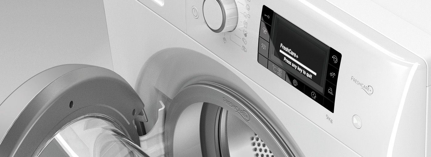 The FreshCare+ washer dryer from Whirlpool keeps garments