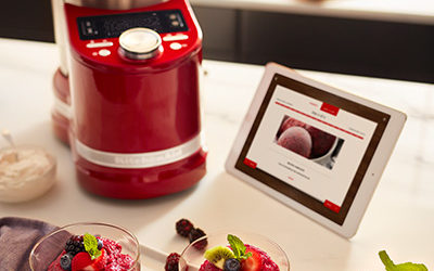 KitchenAid Previews State-of-the-Art KitchenAid® Smart Display with the Google Assistant